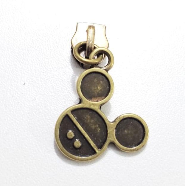 Cursor - N.5 - Carinho Mickey - Ouro velho