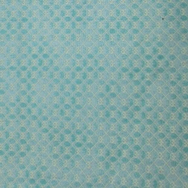 Tricoline - Mini Coroa - Fundo Tiffany - Fabricart