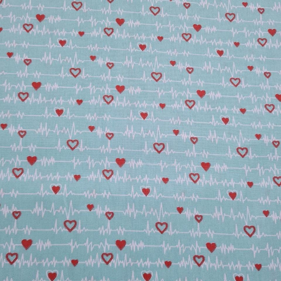 Batimentos Cardíacos Fundo Tiffany - Otimotex