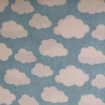 Tricoline  Nuvem - Fabricart