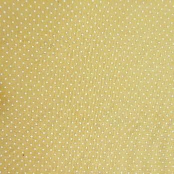 Tricoline - Micro Poá Branco - Fundo Amarelo - Fernando Maluhy