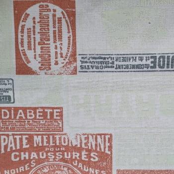Tricoline - Rótulo Laranja - Paris - Fabricart