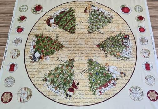 Painel Saia de Árvore Natal  - Importado