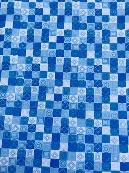 Coleção Azuis - Geométricos - Fernando Maluhy      -