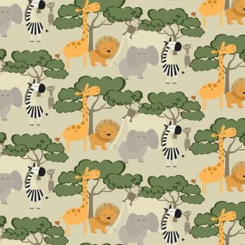 Animais - Turma na Selva - Coleção Safari - Fabricart