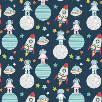 Astronautas no espaço - Coleção Espacial - Fabricart