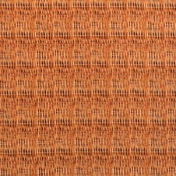 Tricoline - Textura palha - fundo laranja - Importado