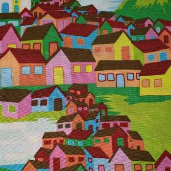 Tricoline - Casas - Pintura - Fernando Maluhy