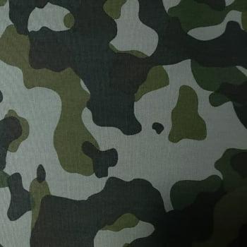 Tecido Tricoline Fernando Maluhy – Camuflado Verde