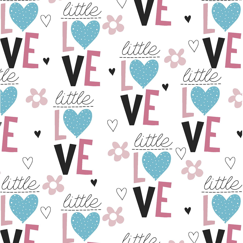 Tricoline - Little Love - Coleção Signature Peace and Love - Fabricart