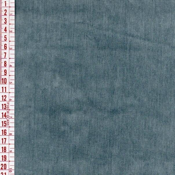 Tecido tricoline estonado azul petróleo - Cris Mazzer